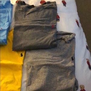 8 Polo Ralph Lauren T Shirts a Mix of XL/XXL